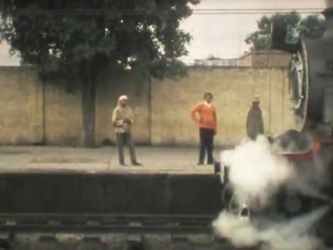 HPS Class 4-6-0 departs Jullundur Station, India 1978