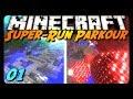 Minecraft Parkour - SUPER RUN! Pt. 1 w/ AntVenom!