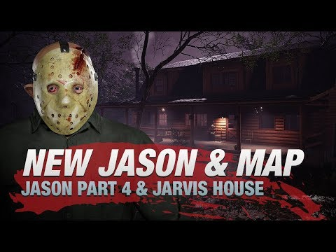 Friday the 13th: The Game Jason IV and Jarvis Map Coming Friday the 13th!
