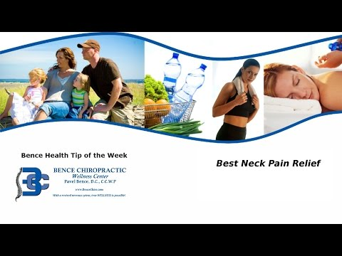 Best Neck Pain Relief