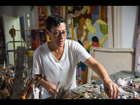 Painter Nicole Eisenman, 2015 MacArthur Fellow