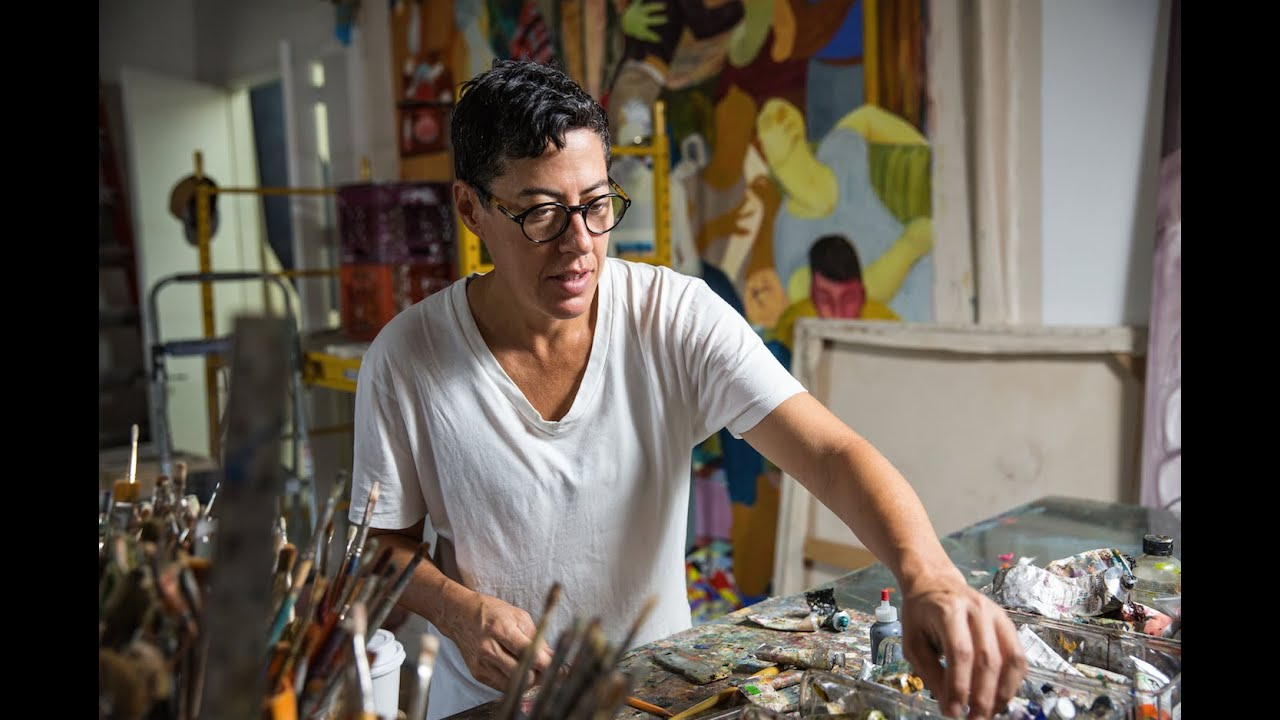 Painter Nicole Eisenman 2015 Macarthur Fellow Youtube