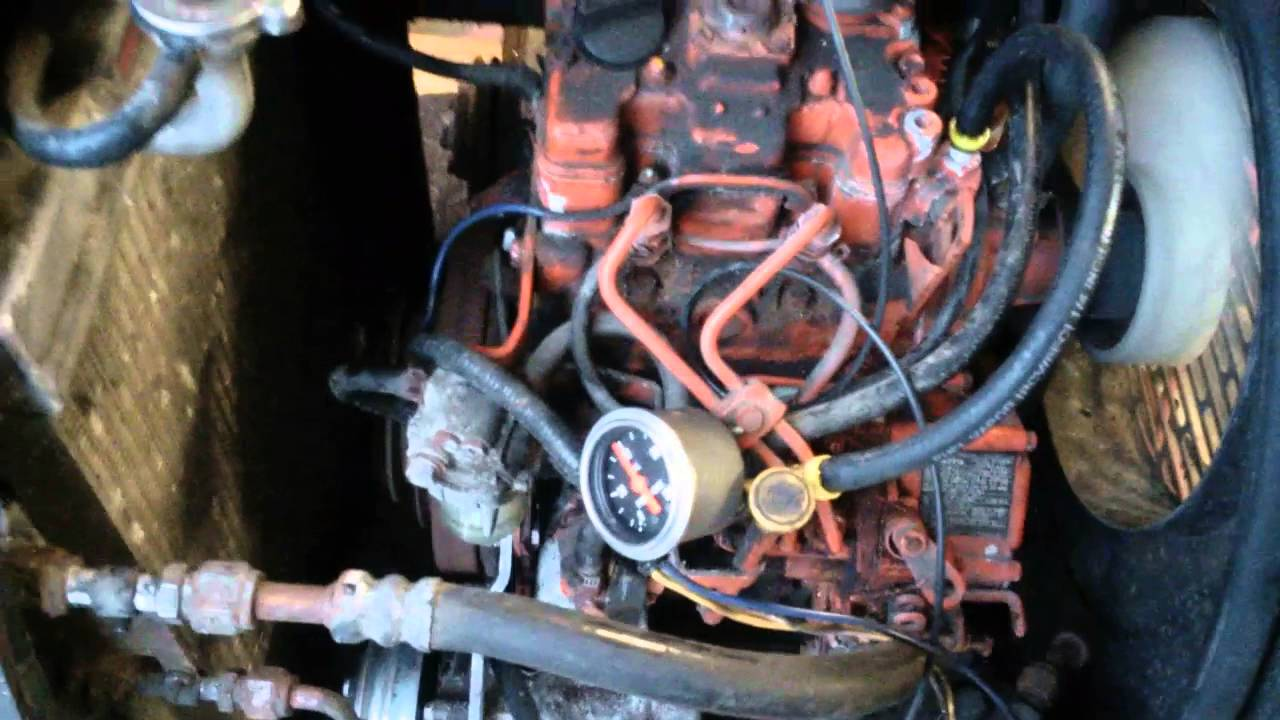 Perkins 2 cylinder restart