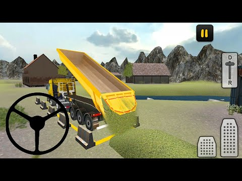 Farm Truck 3D Silage Simulator Android Gameplay HD