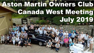 Canada West Aston Martin Owners Club (AMOC) meeting in Victoria, BC July 2019
