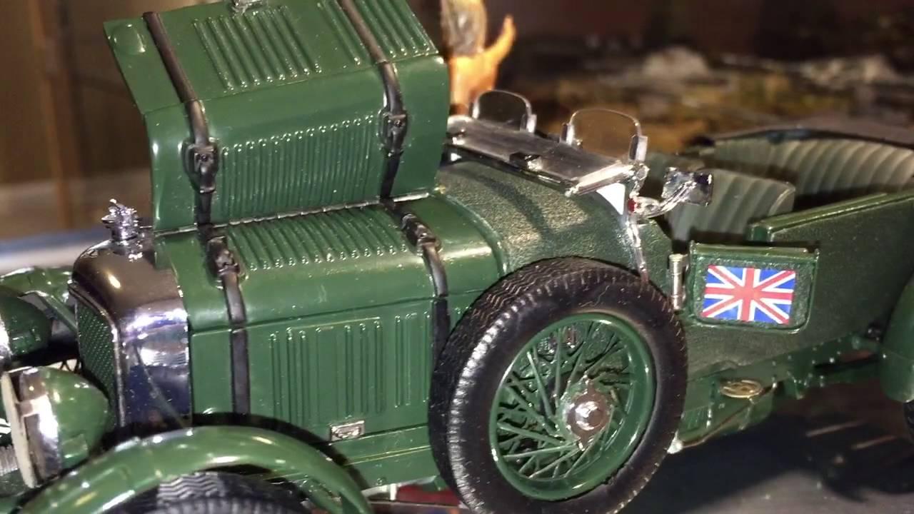 Franklin Mint Bentley 4,5 ltr  blower