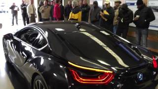 homepage tile video photo for BMW i8 Goes Up for Auction
