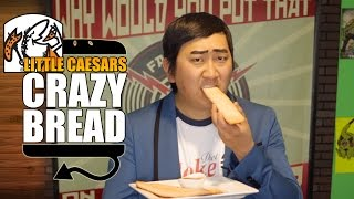 How To Make Little Caesar's Crazy Bread Recipe Rob Dyke Style  |  Hellthyjunkfood
