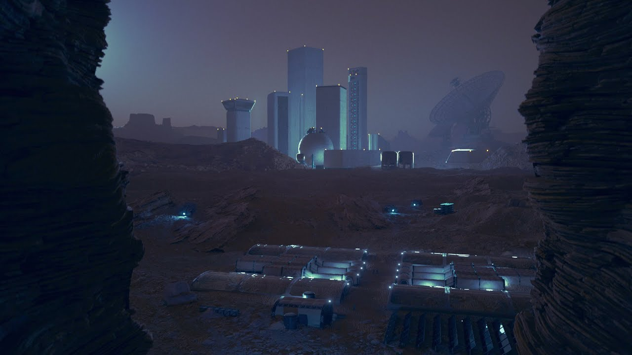 Cinema 4D Tutorial - Using Kitbash3D Models to Build a Space Colony in  Octane