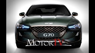 PREVIEW ALL NEW 2018 GENESIS G70 l LaunchFilm Static