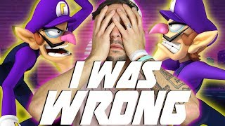 I WAS WRONG ABOUT WALUIGI IN SMASH BROS SWITCH   SMASH BROS ULTIMATE