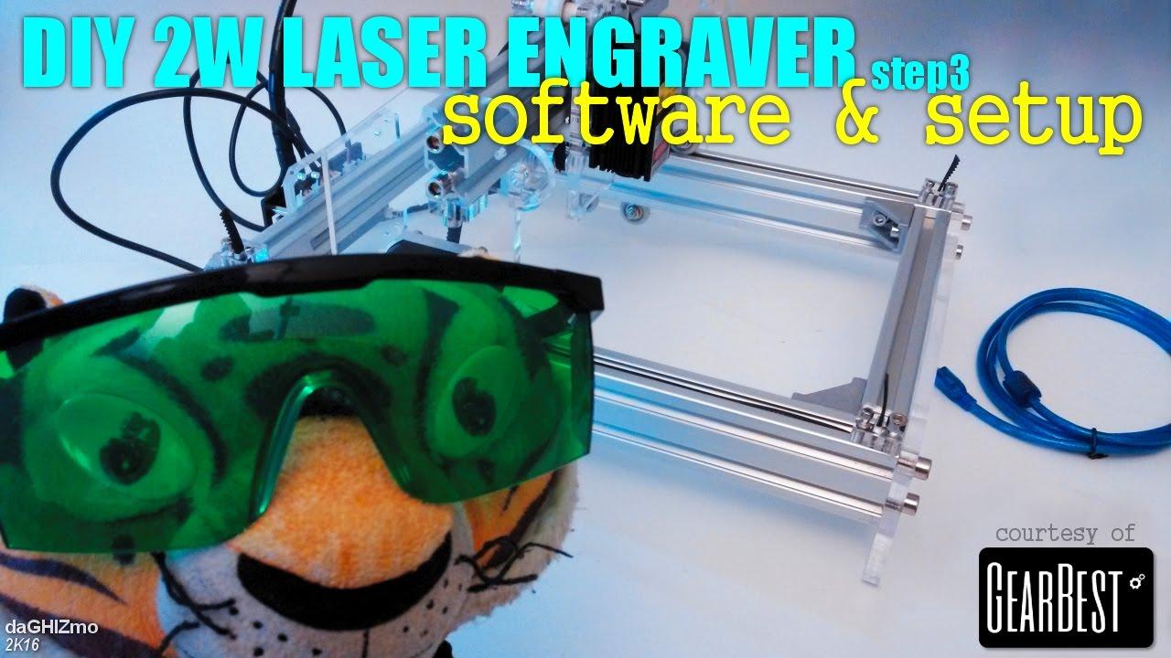 Diy Laser Engraver Step 3 Software Amp Setup Youtube