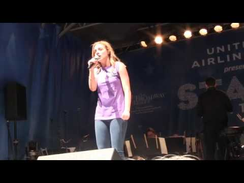 Christy Altomare sings Journey to the Past from Anastasia