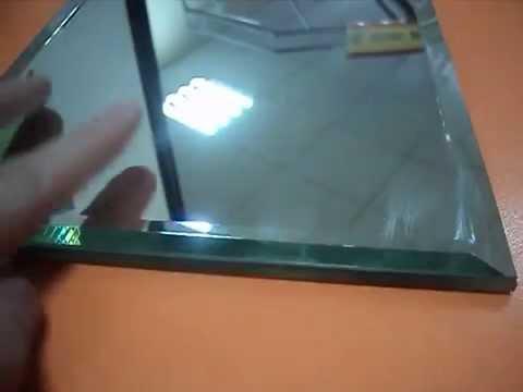 Видео двухслойная зеркальная плитка
