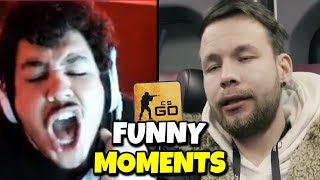 Don't rage: Be like Allu - CSGO FUNNY MOMENTS