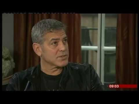 BBC Breakfast - George Clooney interview 2015