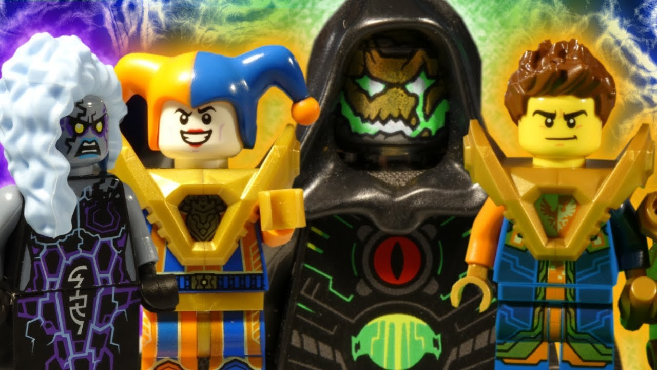 LEGO NEXO KNIGHTS THE MOVIE - PART 7 - 7 - COMPLETE SERIES