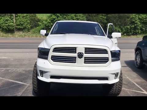 2014 Dodge Ram HEMI TRUE DUAL EXHAUST w/ Straight Pipes!!