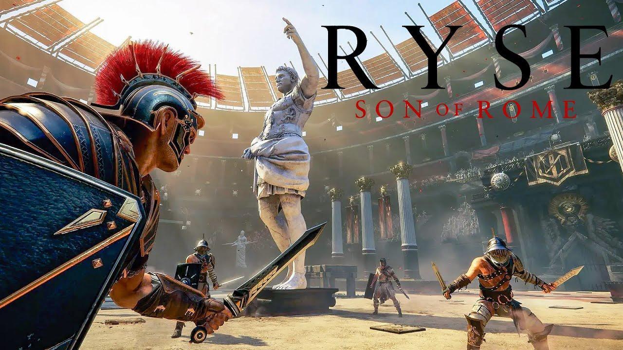 JE DEVIENS UN GLADIATEUR DANS RYSE SON OF ROME