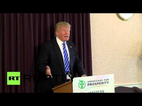 USA: The U.S. is not a dumping ground - Trump on immigration