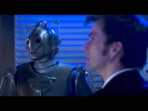 Doctor Who  cybermen and cyber controler