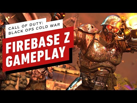 Call of Duty Cold War Zombies: First 15 Minutes of Firebase Z Gameplay