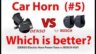 DENSO Horn vs BOSCH H3F Horn Car Horn Comparison 5