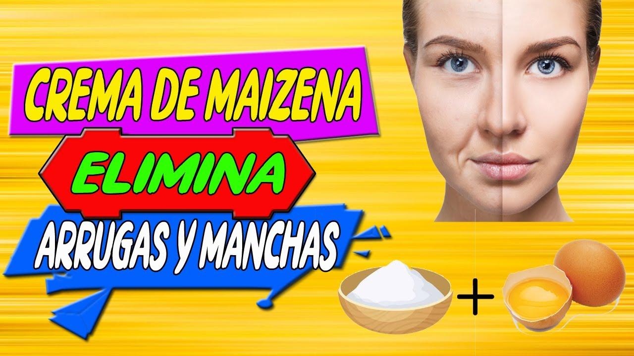 Crema de Maizena, te quita 40 años de arriba, blanquea y quita las arrugas al instante | #BELLEZA