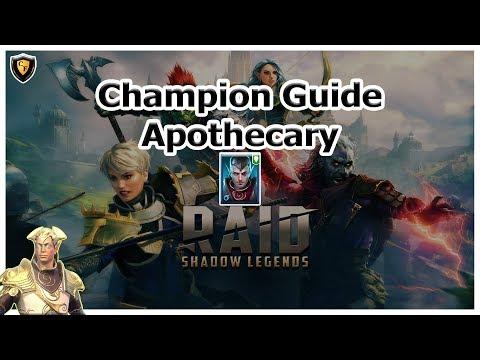 RAID: SL - Apothecary Champion Guide