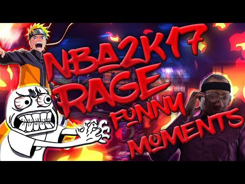 NBA 2K17 RAGE | FUNNY MOMENTS | PATCH MADE SH1T