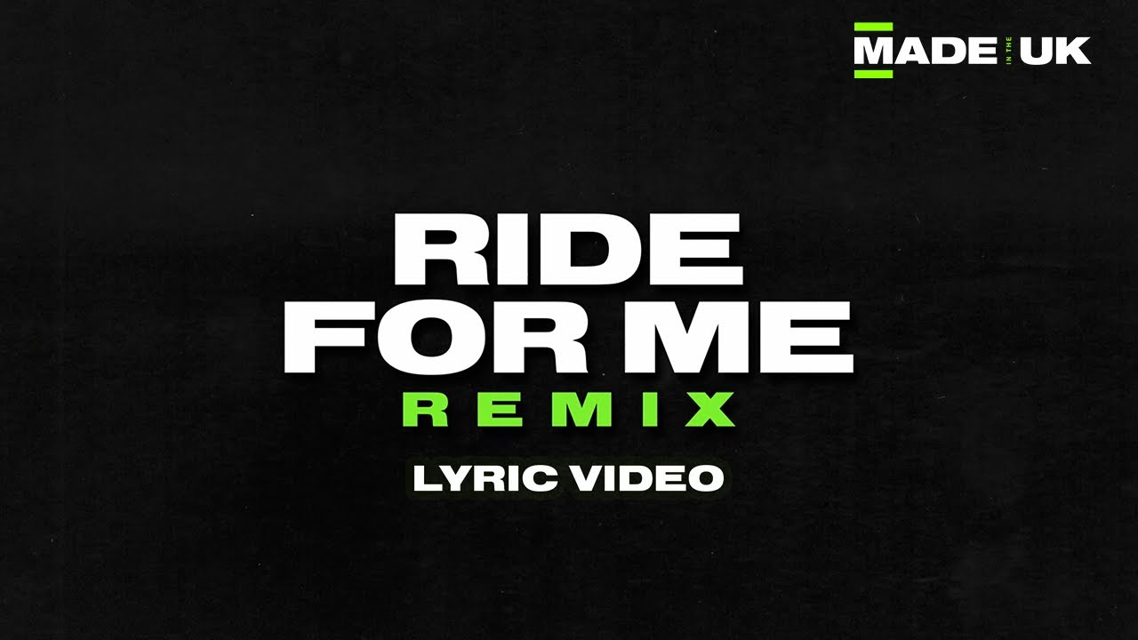 Download B Young feat. Kranium - Ride For Me (Remix) [Lyric Video] | Made In The UK