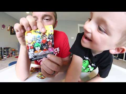 Father & Son GET MYSTERY LEGO BATMAN FIGURES! / Fun To Collect!