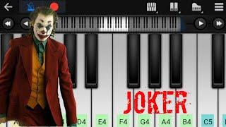 Joker | Sucide Squad Song | Easy Piano Tutorial