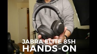 Jabra Elite 85h hands-on: A top contender with active noise cancellation