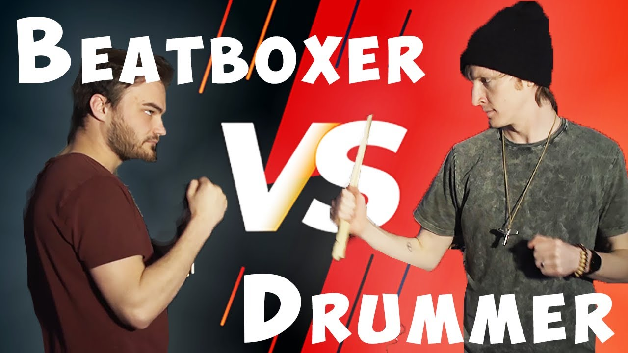 Drummer Vs Beatboxer