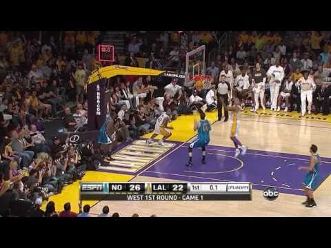 Hornets vs Lakers (Playoffs 2011 Game 1) [04.17.11] Lakers Highlights HD