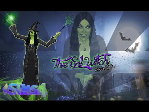 The Sims 4: Create A Sim {The Evil Witch}