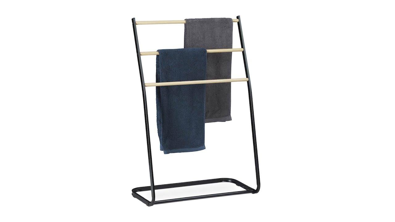 Handtuchhalter stehend aus Metall