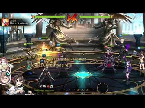 EPIC SEVEN Hell Raid Azmakalis VS Devourer Arahakan (using