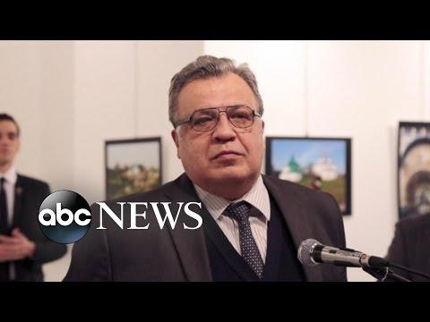 Russian Ambassador Killed by Gunman