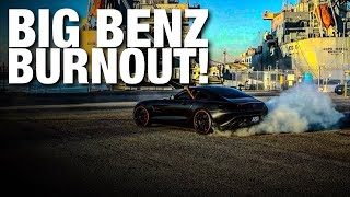 DOING DOUGHNUTS IN MY MERCEDES-BENZ AMG GT GOES WRONG!!!