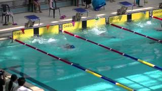 201415 葵涌區學界 聖公會主愛小學 女丙 50米背泳決