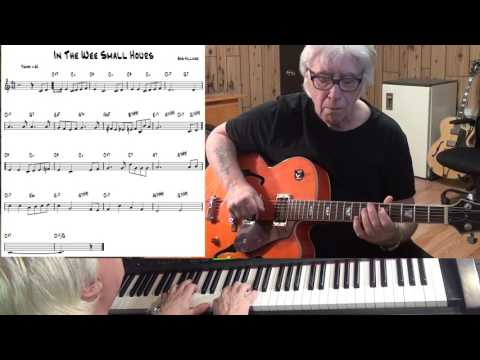 In The Wee Small Hours - Jazz guitar & piano cover ( Bob Hilliard )