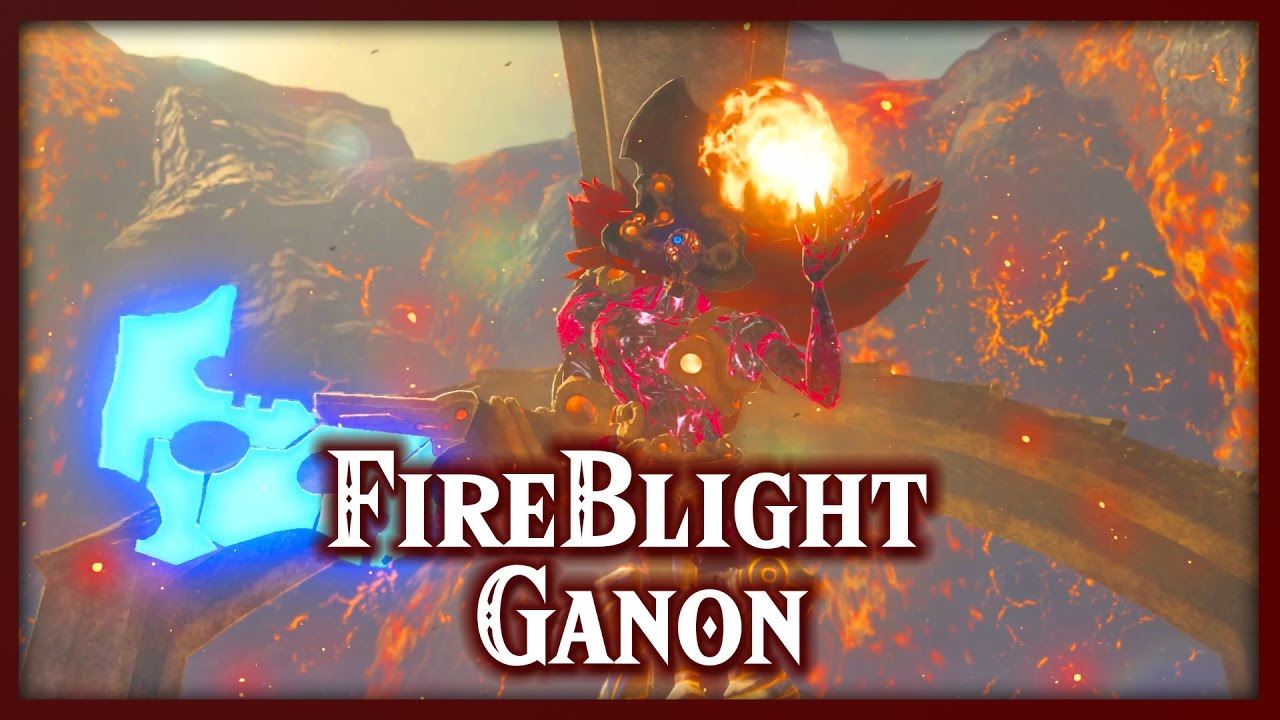 Zelda Breath Of The Wild Fireblight Ganon Divine Beast Vah Rudania