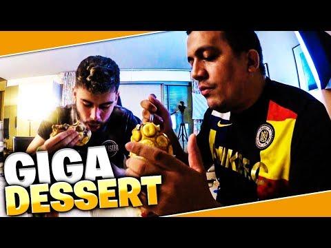 DEGUSTATION GIGA DESSERT AVEC TK !!!