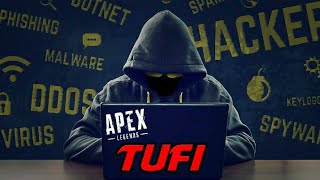 Meet Tufi... The HACKER Who HACKED ShivFPS LIVE... ( COMPLETELY TOOK OVER Apex Legends)
