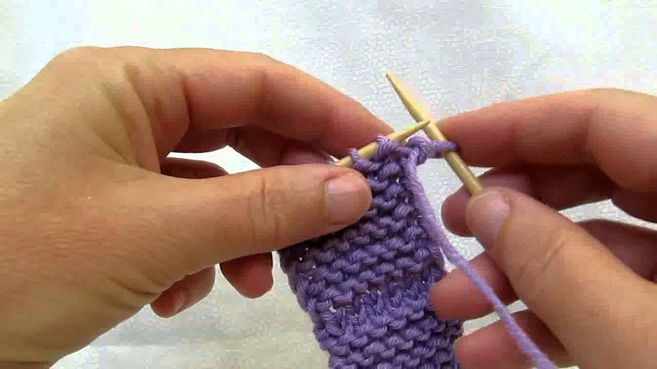 Knitting Edge Slip Stitch : Really clear slipping the first stitch of a row cc