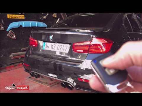 BMW F30 3.16 KUMANDALI VAREX EGZOZ SESİ