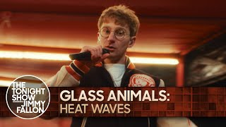 Glass Animals: Heat Waves | The Tonight Show Starring Jimmy Fallon
