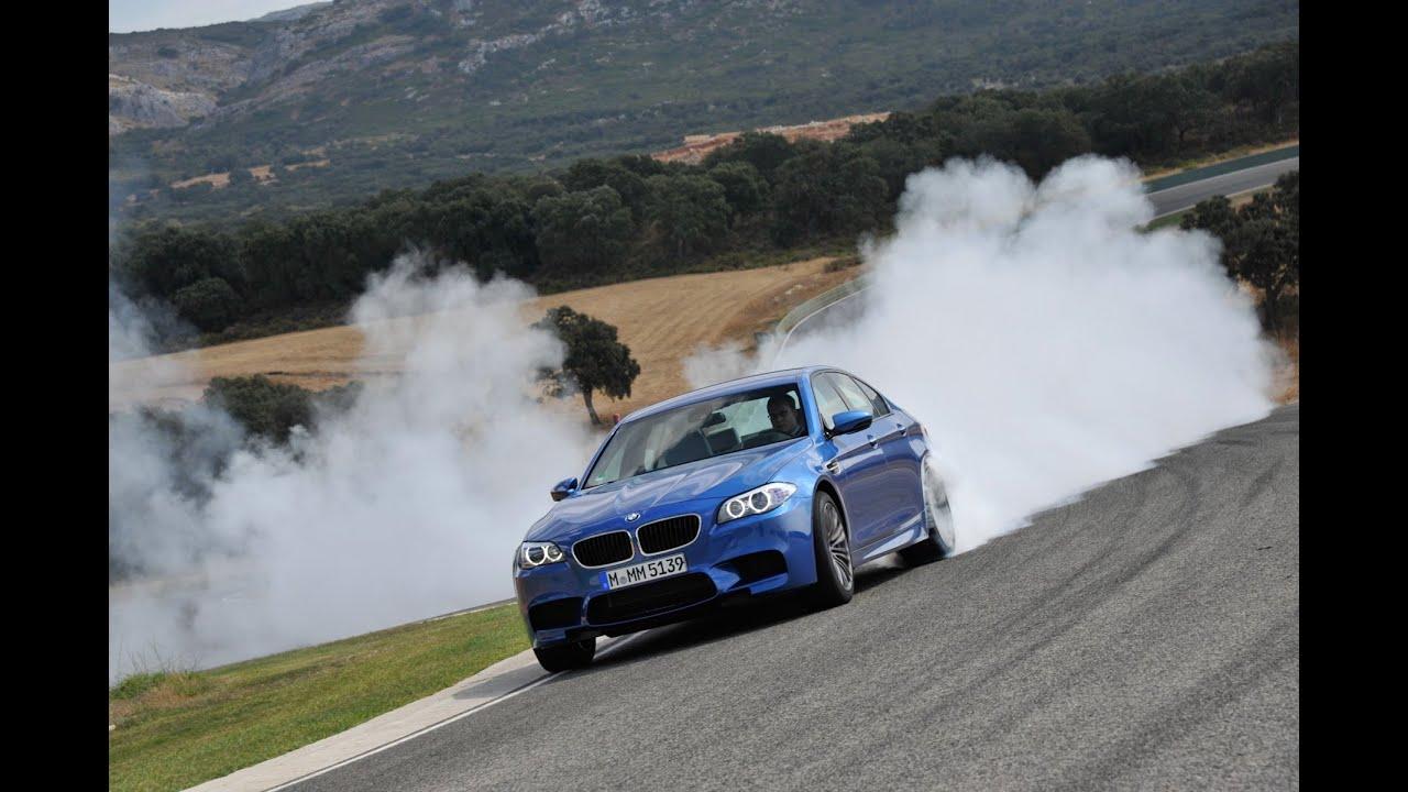 BMW M5 F10 Дрифт, занос, Бешеная езда! Смотреть 100% ...